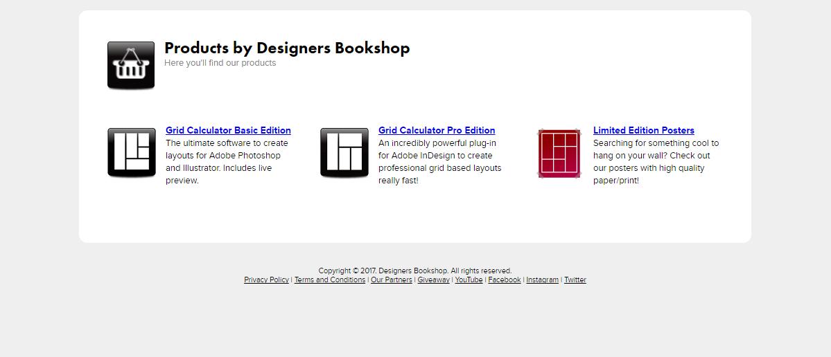 DesignBook Shop