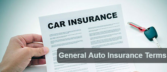 Auto Insurance Terms That Every Drivers Need To Know