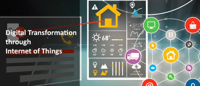 Digital Transformation by IoT
