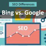 Bing SEO vs. Google SEO