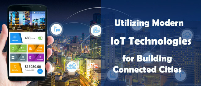 IoT Building Connected Cities