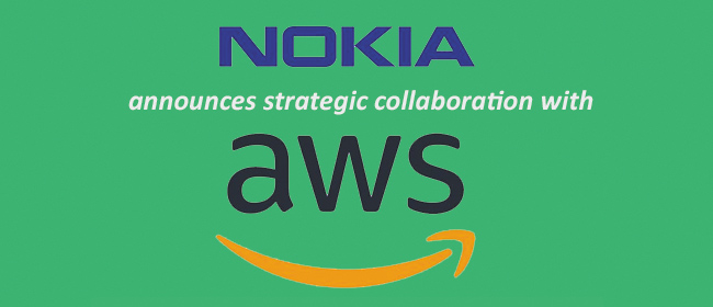 Nokia Collaborating with AWS