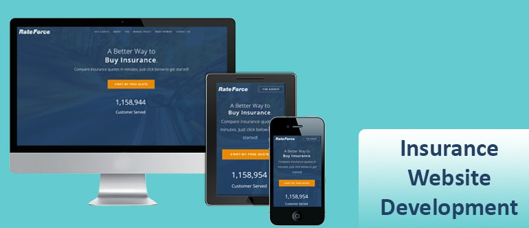 Insurance Website Development